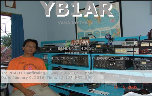 eQSL card from contact with YB1AR